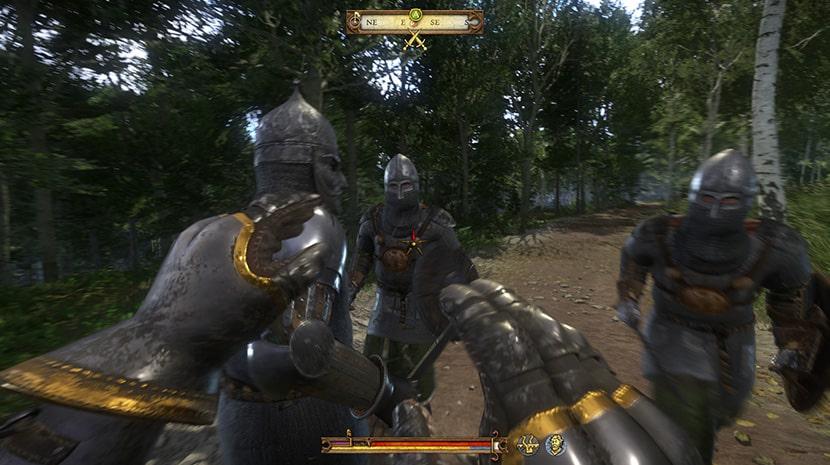 Bandidos en Kingdom Come: Deliverance.