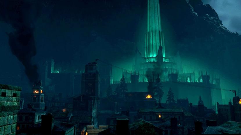 Minas Morgul en Sombras de Guerra.