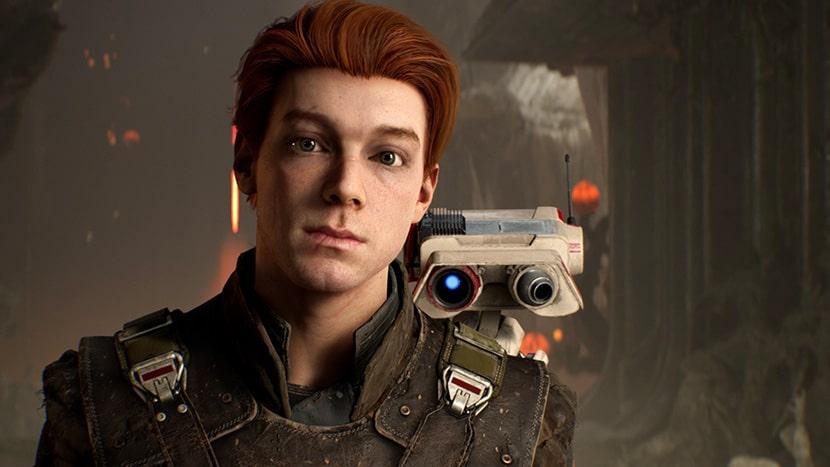 Cal Kestis y BD-1, protagonistas de Star Wars Jedi: Fallen Order.