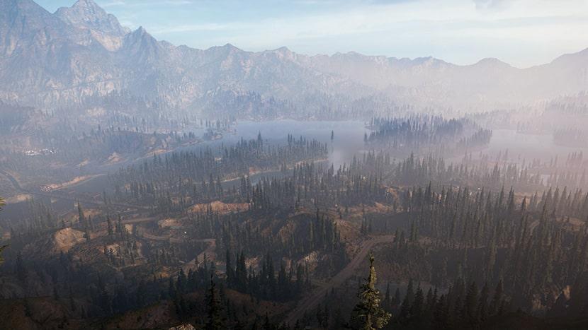 El Condado de Hope en Far Cry 5.