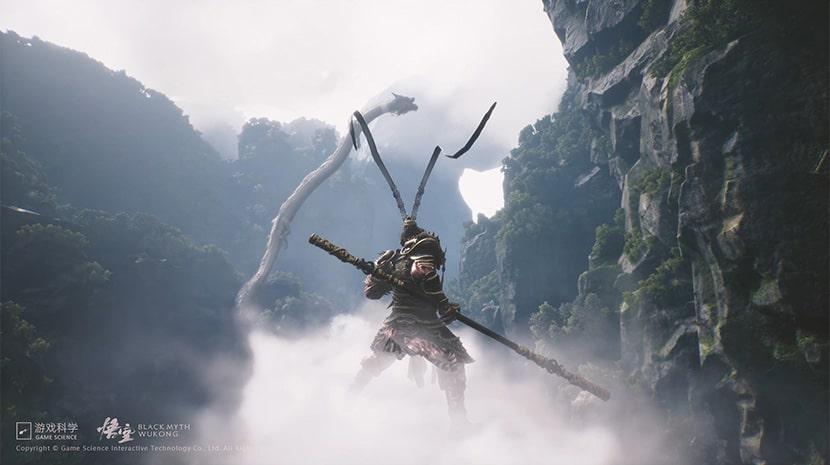 Captura de Black Myth: Wukong.