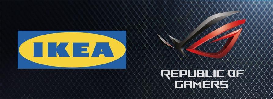 IKEA y Asus ROG.