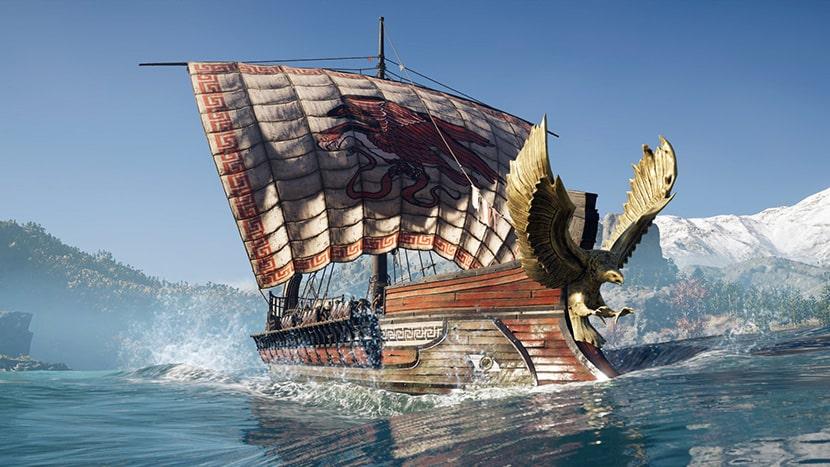 La Adrastea en Assassin's Creed Odyssey.