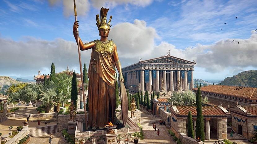 Atenas en Assassin's Creed Odyssey.