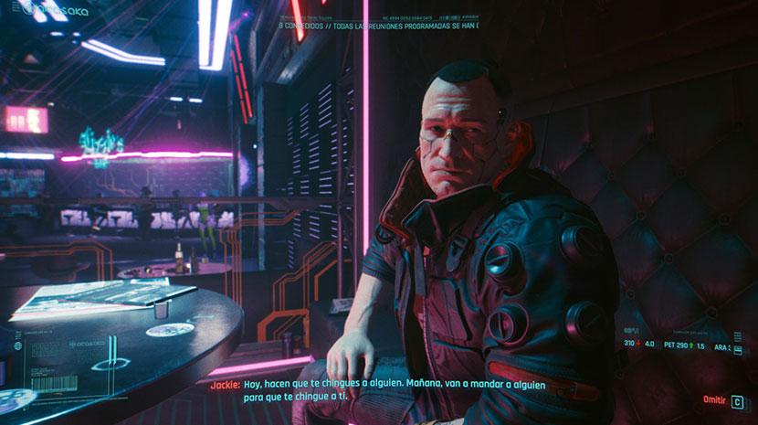 Jackie de Cyberpunk 2077.