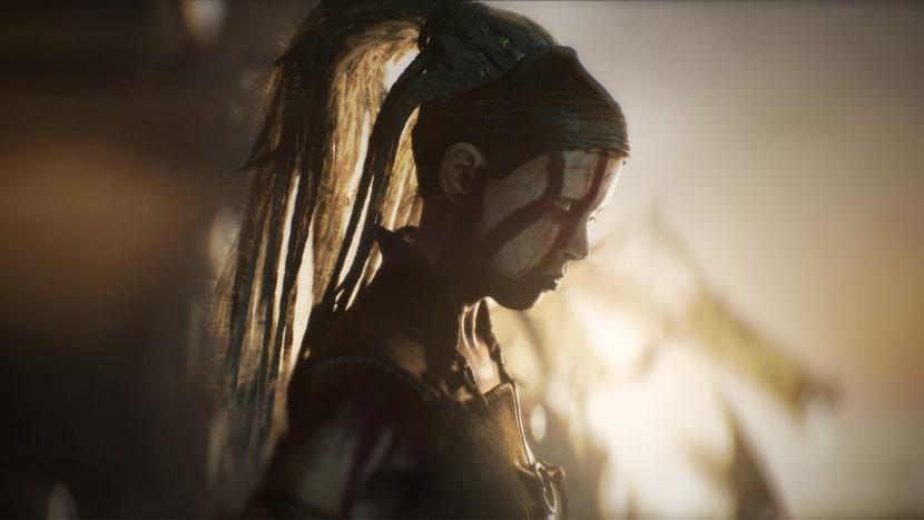 Iluminación en Senua's Saga: Hellblade II.