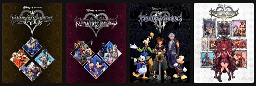 Juegos de Kingdom Hearts en PC.