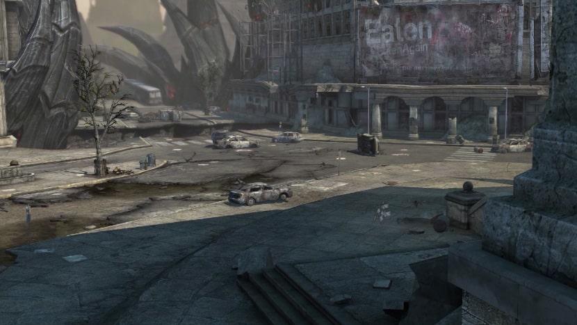 Cruce de Caminos, uno de los escenarios de Darksiders.