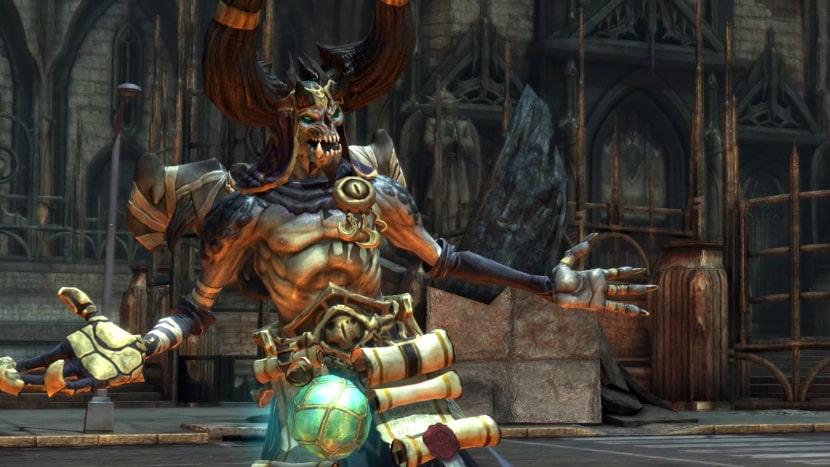 Vulgrim en Darksiders Warmastered Edition.