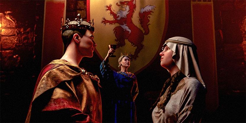 Imagen de la expansión Royal Court de Crusader Kings III.