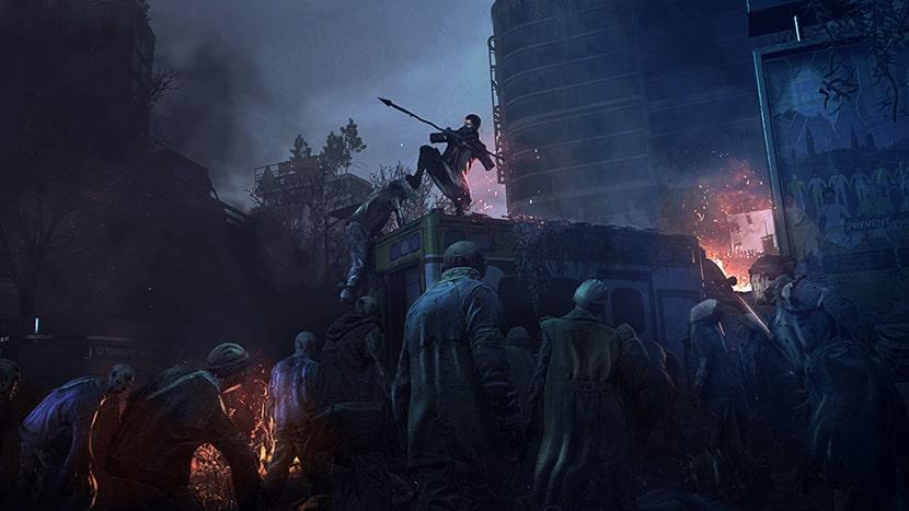 Noche en Dying Light 2.