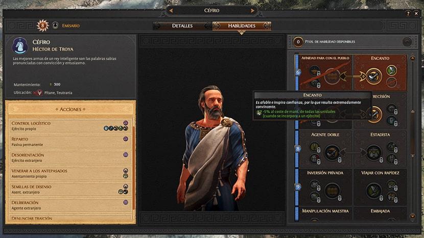 Emisario en A Total War Saga: Troy.