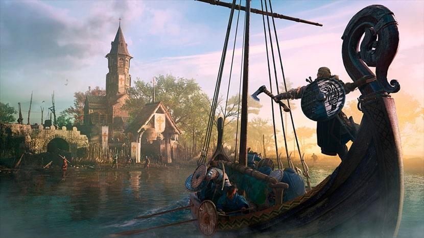 El barco de Evor en Assassin's Creed Valhalla.