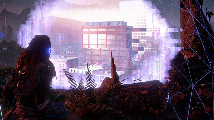 Observatorio en el juego Horizon Zero Dawn.