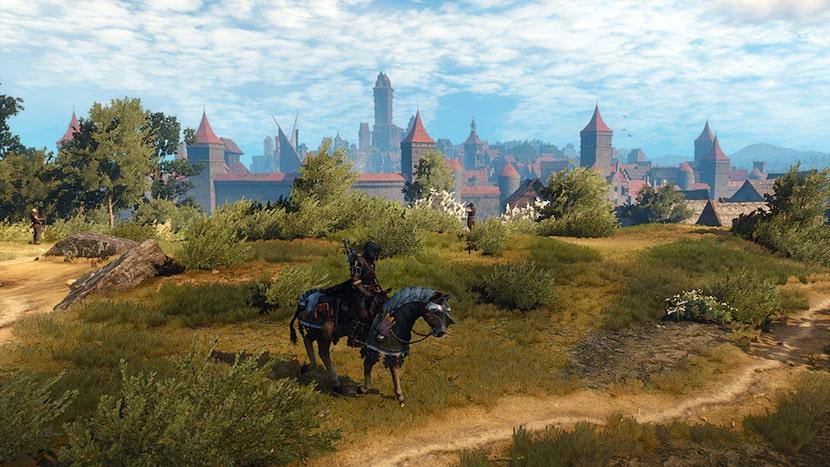 La ciudad de Novigrado en The Witcher III - Wild Hunt.