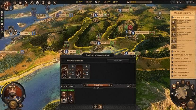 Minotauro en A Total War Saga: Troy.