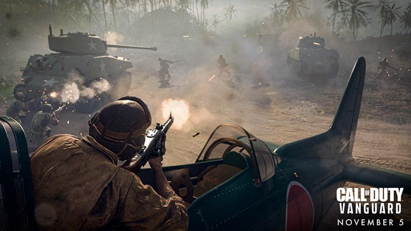 Aviador en Call of Duty: Vanguard.