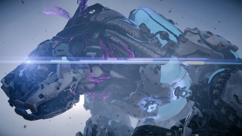 Garrahelada en Horizon Zero Dawn: The Frozen Wilds.