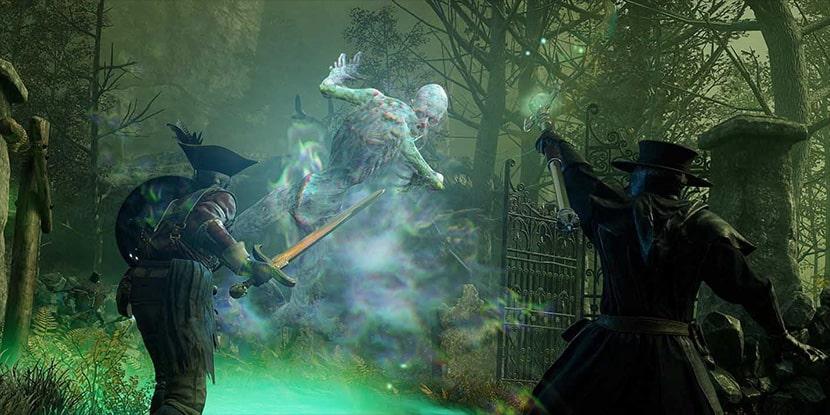Fantasma en el MMORPG de Amazon New World.