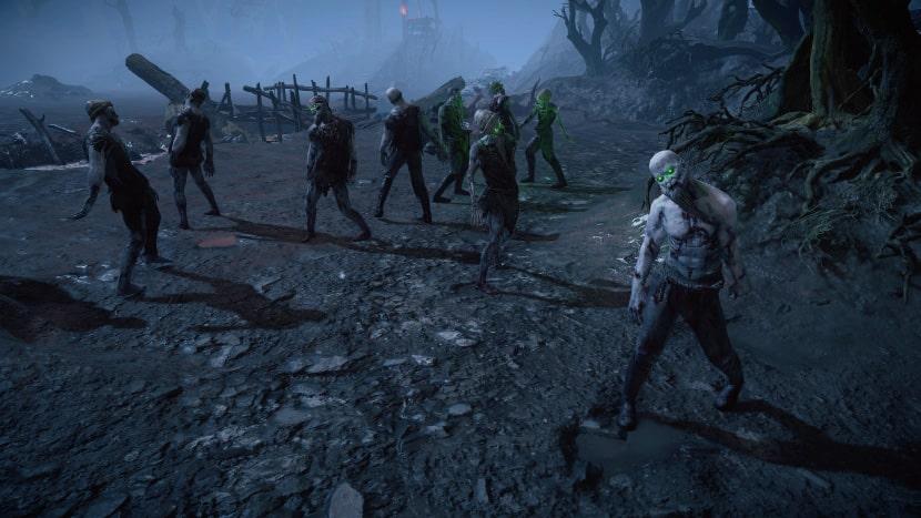 No-muertos en Path of Exile.