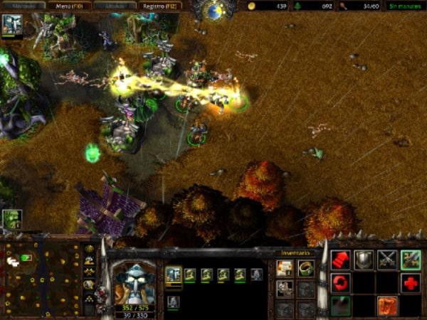 Cazador de Sombras en Warcraft III.