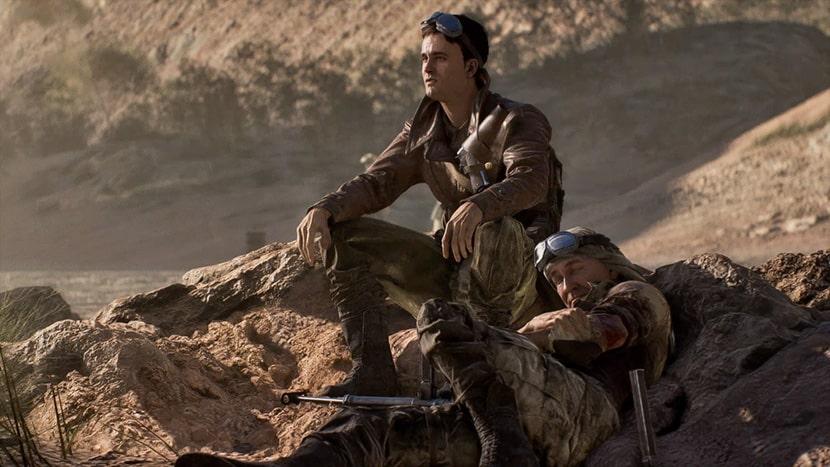 Billy Bridger y George Mason, protagonistas de Sin Bandera.