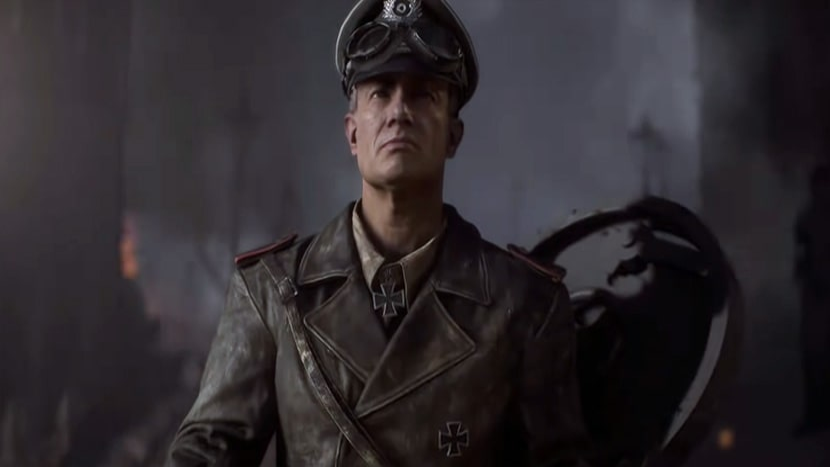 El Coronel Peter Müller a bordo de su Tiger I.