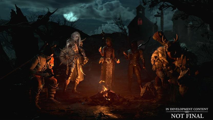 Clases en Diablo IV.