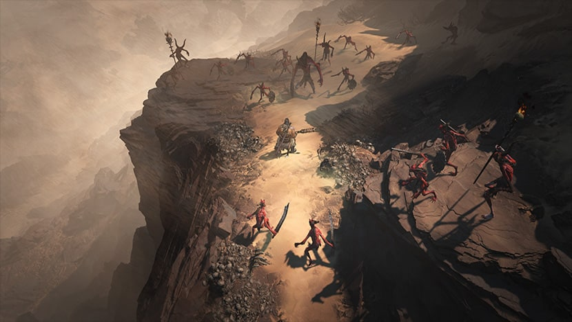 Un bárbaro se enfrenta a hordas de enemigos en Kehjistan.