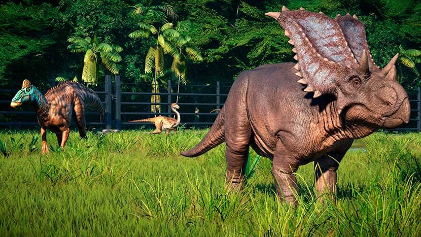 Dinosaurios herbívoros.