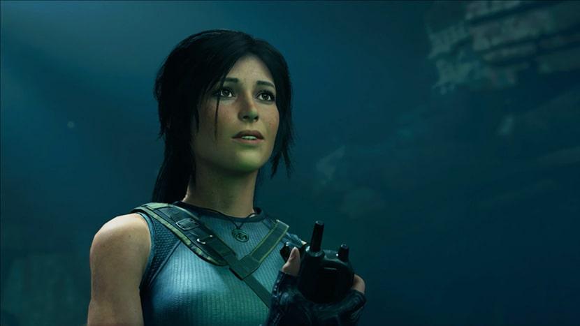 Lara Croft en Shadow of the Tomb Raider.