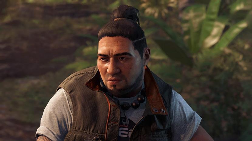 Jonah en Shadow of the Tomb Raider.
