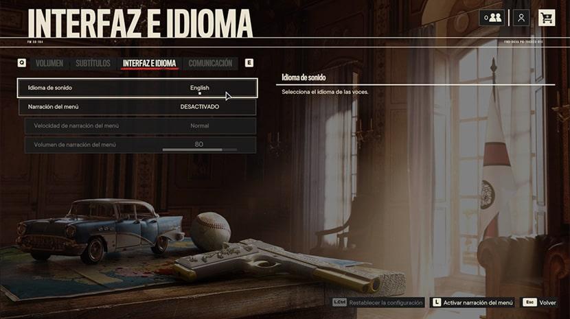 Aunque el interfaz de Far Cry 6 sí esté en español tan solo ofrece la opción de jugarlo en inglés.